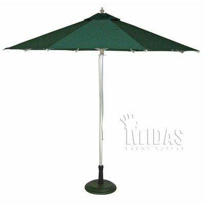 9 Patio Market Umbrella Color: Hunter Green