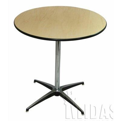 Elite Wood Table With Adjustable Post