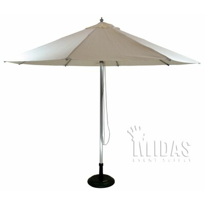 8.5 Patio Market Umbrella Color: Natural