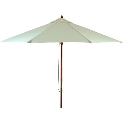 11 Patio Market Umbrella Color: Natural
