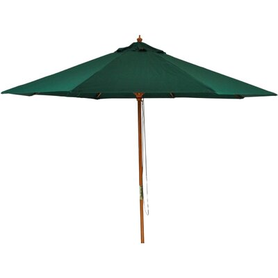 8.5 Patio Market Umbrella Color: Hunter Green
