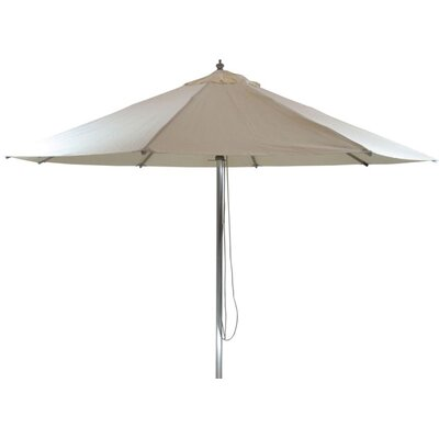 9 Patio Market Umbrella Color: Natural