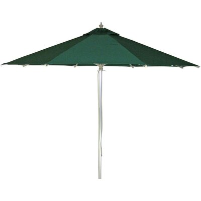 9 Patio Market Umbrella Color: Hunter Green