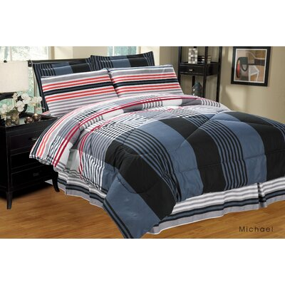 Complete Reversible Bed-In-A-Bag Set Size: King