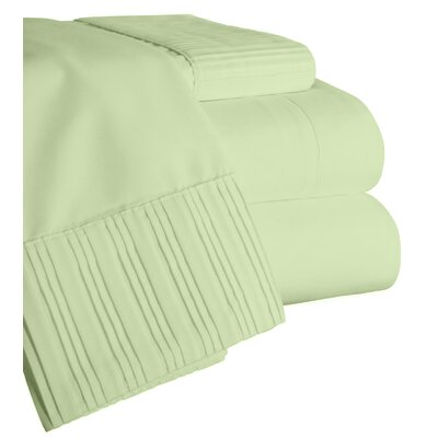 Chamberlain London Microfiber Sheet Set Size: Queen, Color: Sage