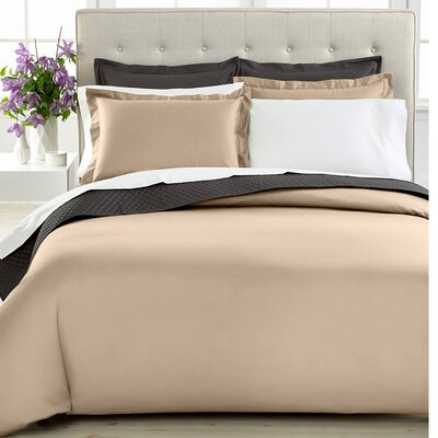 3 Piece Duvet Cover Set Size: Twin, Color: Taupe