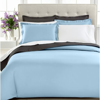 3 Piece Duvet Cover Set Size: Twin, Color: Blue