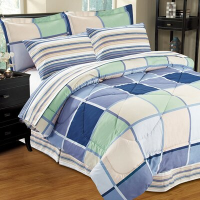 Complete Reversible Bed-In-A-Bag Set Size: Twin