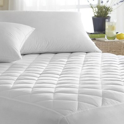 1 Polyester Mattress Pad Size: Twin