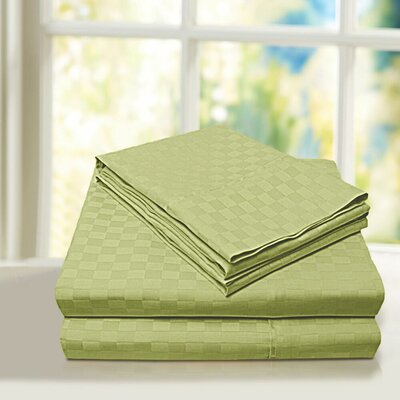 Beverly Hills 600 Thread Count 100% Cotton Egyptian Quality Sheet Set Color: Sage, Size: Queen