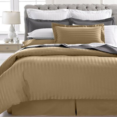 Lafountain 2 Piece Twin Duvet Set Color: Tuape