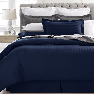 Lafountain 2 Piece Twin Duvet Set Color: Blue