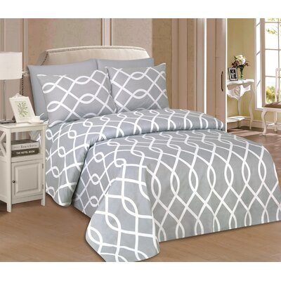 Rosenbaum Microfiber Sheet Set Size: Twin
