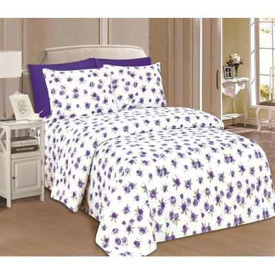 Rundell Microfiber Sheet Set Size: Full