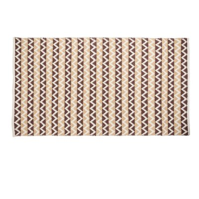 Latte Indoor/Outdoor Area Rug Rug Size: 3 x 5