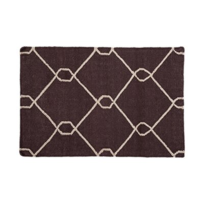 Chocolate Area Rug Rug Size: 2 x 3