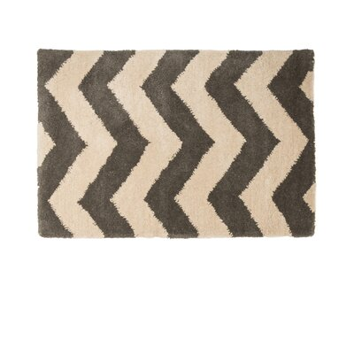Gray/Ivory Area Rug Rug Size: 2 x 3