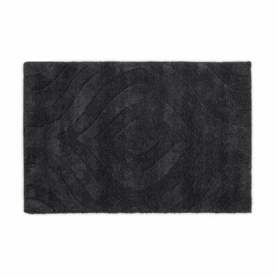 Hand-Tufted Charcoal Area Rug Rug Size: 2 x 3