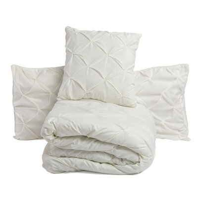 3 Piece Comforter Set Size: Twin