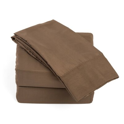 Soft Sheet Set Size: Queen, Color: Chocolate