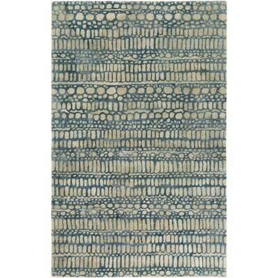 Natural Affinity Hand-Tufted Yellow/Green Area Rug Rug Size: Rectangle 5 x 76
