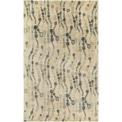 Natural Affinity Hand-Tufted Yellow/Beige Area Rug Rug Size: Rectangle 5 x 76