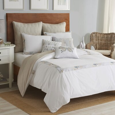 Sea Glass Duvet Cover Set Size: Twin