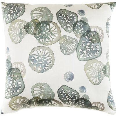 Natural Affinity Silk Throw Pillow Color: Green
