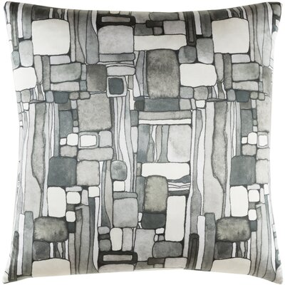Natural Affinity Silk Throw Pillow Color: Gray