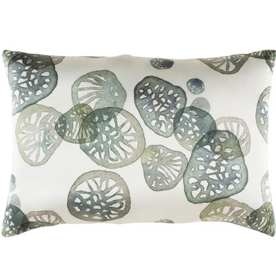 Natural Affinity Silk Pillow Cover Color: Green