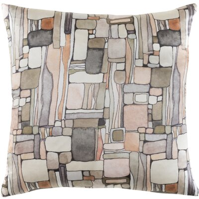Natural Affinity Silk Throw Pillow Color: Orange