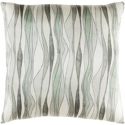 Natural Affinity Silk Throw Pillow Color: Neutral / Green