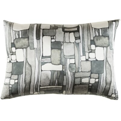 Natural Affinity Silk Pillow Cover Color: Gray