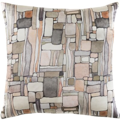 Natural Affinity Silk Pillow Cover Color: Orange