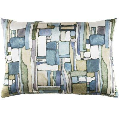 Natural Affinity Silk Lumbar Pillow Color: Green