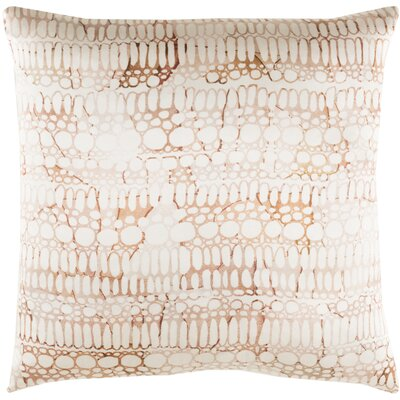 Natural Affinity Silk Pillow Cover Color: Brown/Orange