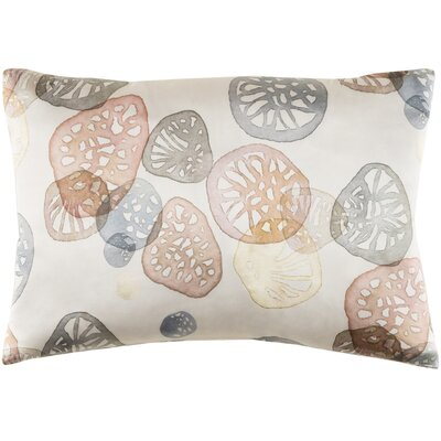 Natural Affinity Silk Pillow Cover Color: Blush