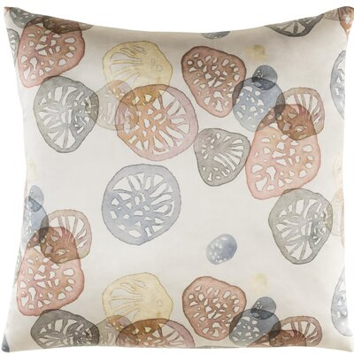Natural Affinity Silk Throw Pillow Color: Blush