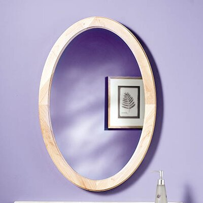 Dunhill 21 x 31 Recessed Mirror Cabinet Finish: Maple