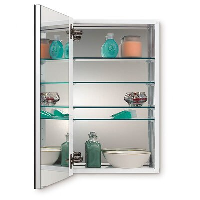 Metro 15.13 x 25.13 Recessed or Surface Mount Medicine Cabinet