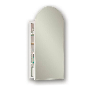 Metro 15.13 x 31.25 Recessed or Surface Mount Medicine Cabinet