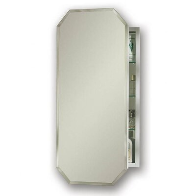 Metro 15.125 x 31.25 Recessed or Surface Mount Medicine Cabinet