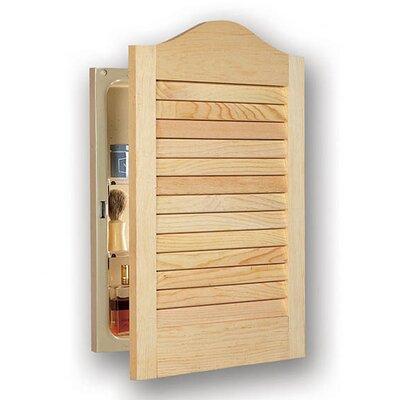 Louver 16 x 24 Recessed Medicine Cabinet