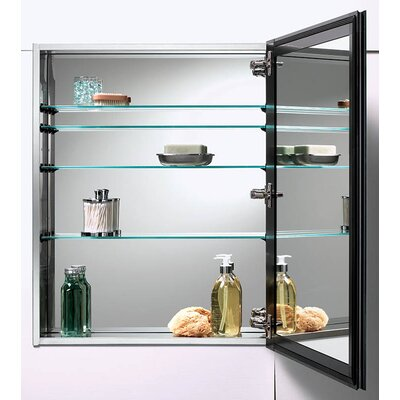 Gallery 15 x 35 Recessed or Surface Mount Medicine Cabinet