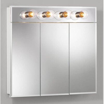 Ashland 30 x 27.75 Surface Mount Medicine Cabinet