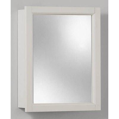15 x 19 Surface Mount Medicine Cabinet Finish: White