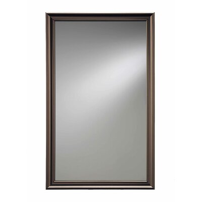 15.75 x 25.5 Recessed Medicine Cabinet Finish: Oil Rubbed Bronze
