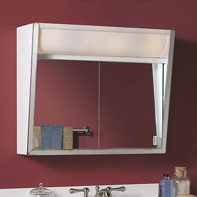 Specialty Flair 24 x 19.5 Surface Mount Medicine Cabinet with Lighting