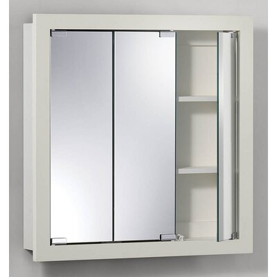 24 x 24 Surface Mount Medicine Cabinet Finish: White
