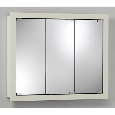 30 x 26 Surface Mount Medicine Cabinet Finish: White